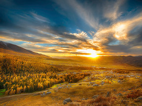 北疆金秋摄影