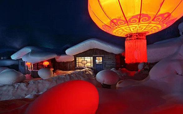 【雪乡经典游】雪乡穿越-长白山温泉-亚布力滑雪-镜泊湖-雾凇岛-哈尔滨7日深度游