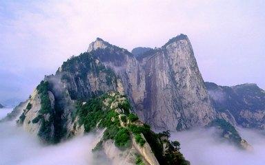 【华山一日游】华山索道-西峰-北峰-苍龙岭-长空栈道-华山论剑一日游