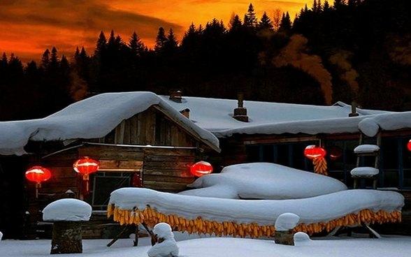 【雪乡经典游-特价】冰城哈尔滨-雪乡穿越-虎林园-长白山-吉林滑雪-雾凇岛七日游