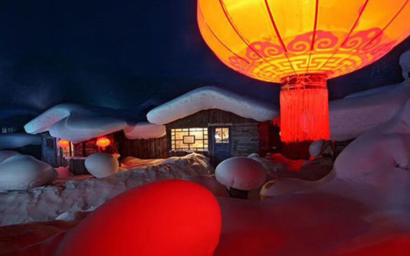 【雪乡深度游】哈尔滨-雪乡徒步穿越-老里克湖踏雪-吉林滑雪-长白山-吉林赏雾凇8日游