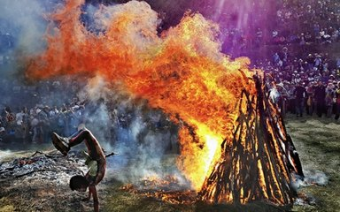 【弥勒祭火节】弥勒阿细祭火节-东川红土地-抚仙湖-建水古城-元阳梯田-普者黑8日摄影游