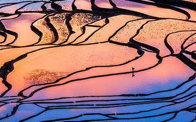 【元阳摄影游】2021元阳梯田-罗平油菜花-东川红土地-九龙瀑布-元谋土林摄影8日游