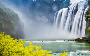 【云贵春色】黄果树-罗平油菜花-马岭河-万峰林-吉隆堡-青岩6日深度游