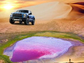 探秘巴丹吉林-沙漠腹地-红海子-沙漠徒步-骆驼骑行-滑沙-星空篝火-沙漠越野4日游